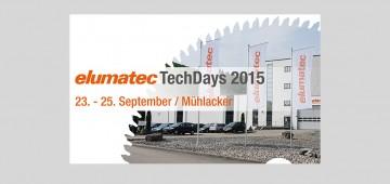 elumatec TechDays 2015