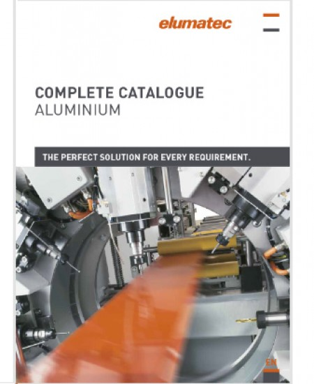 Complete aluminium catalogue