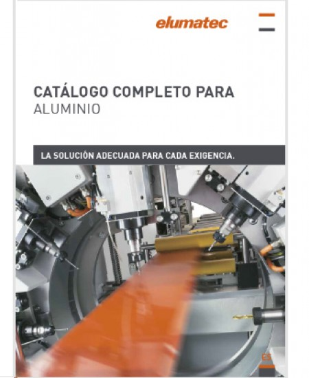 CATÁLOGO COMPLETO PARA ALUMINIO