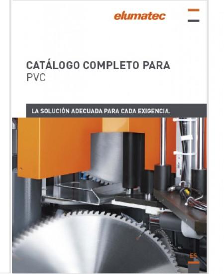 CATÁLOGO COMPLETO PARA PVC