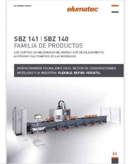 SBZ 141 - SBZ 140 FAMILIA DE PRODUCTOS