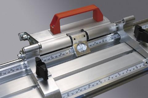 Sistemas de batente e medição