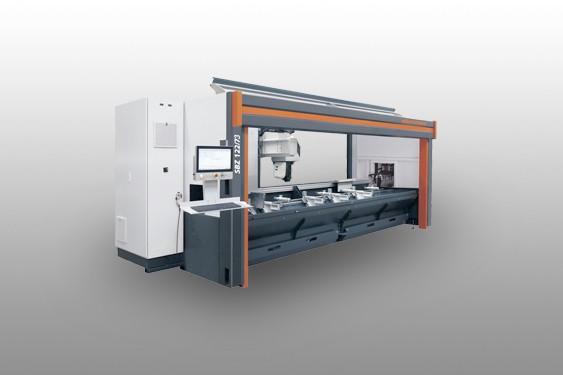SBZ 122/73 Profile machining centre Elumatec