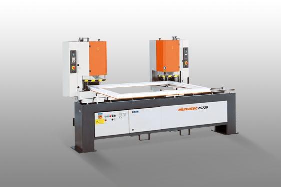 ZS 720 LV  Tweekops lasmachine