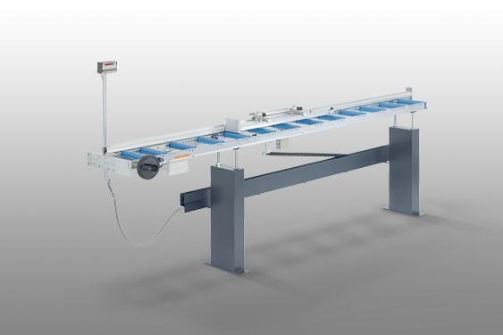 Perfis de PVC MMS 200 Sistema de batente e medição Elumatec