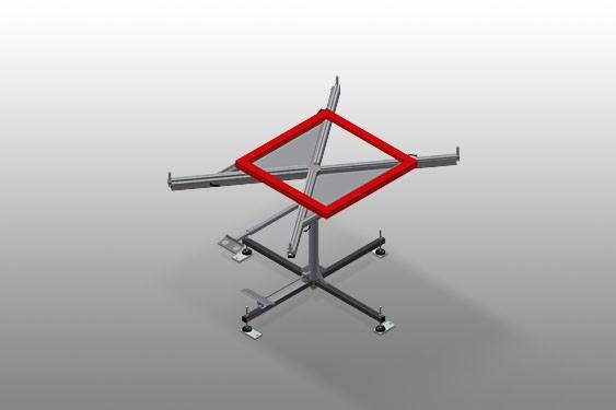 DT 1000 Rotating table Elumatec