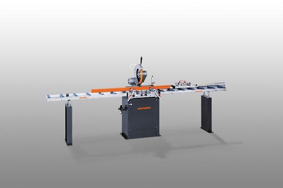 Perfis de PVC MGS 72/30 Máquina de corte angular  Elumatec