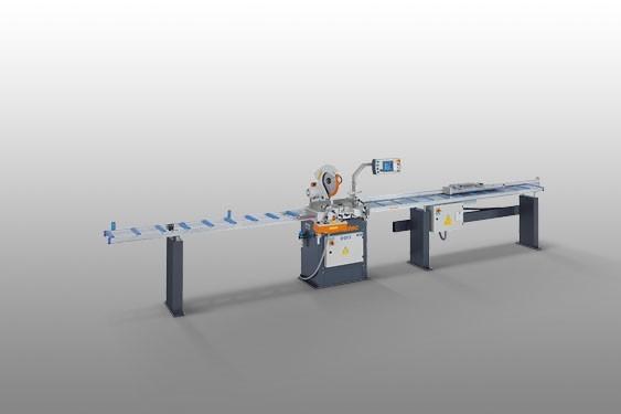 Perfis de PVC MGS 73/33 Máquina de corte angular  Elumatec