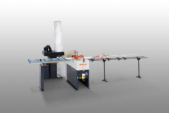 Perfis de PVC GLS 192/031 Máquina de corte bites  Elumatec