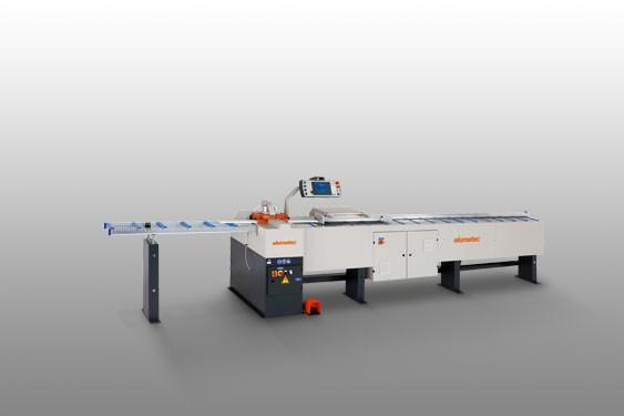 Perfis de PVC GLS 192 Máquina de corte bites  Elumatec