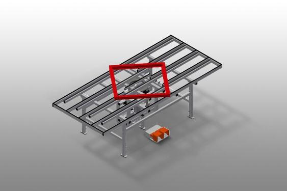 HD 3000 Table de levage pivotante