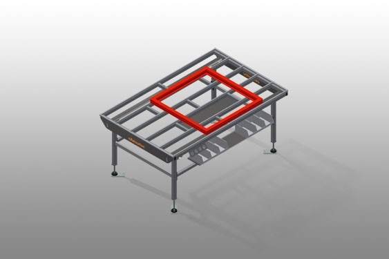 HT 2000 Horizontal table – Individual table