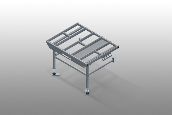 HT 1000 E - Table horizontale-Extension