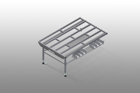 HT 2000 E Horizontal table – Expansion