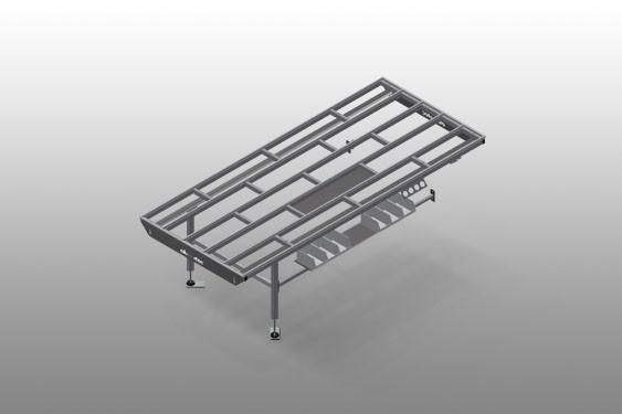 HT 3000 E - Table horizontale-Extension