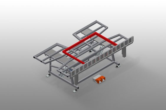 KT 3000 Tilting table Elumatec