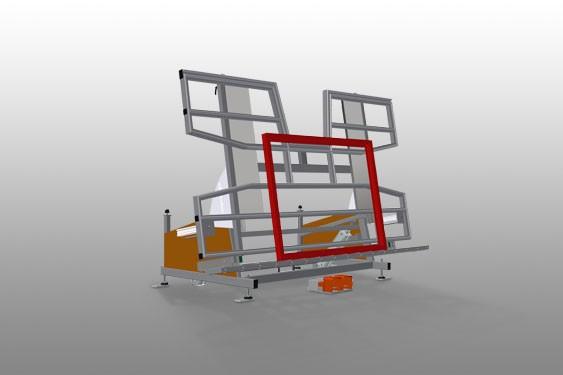 KTH 4000 Tilting table with height adjustment Elumatec