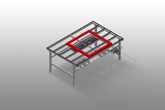MT 2000 Table d'assemblage