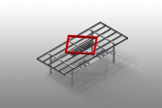 MT 3000 Assembly table Elumatec