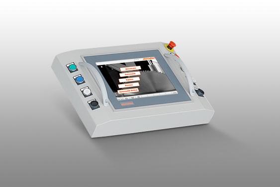 Perfis de PVC E 580 Controlo por PC  Elumatec