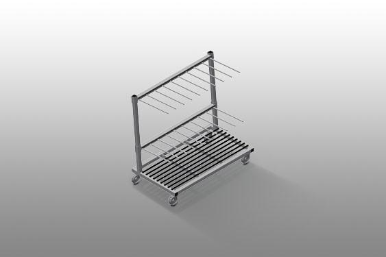 PWS 1400 Profile transport trolley Elumatec