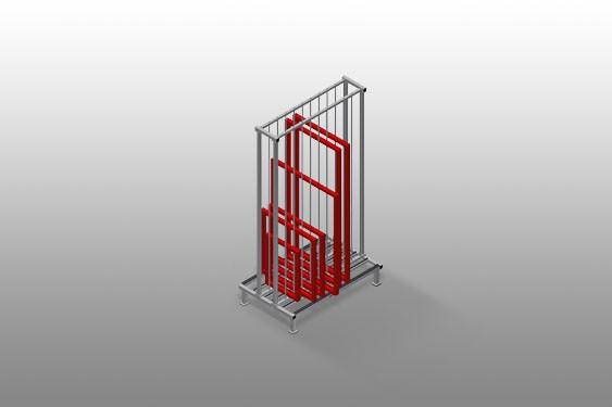 RFR 10 Frame rack