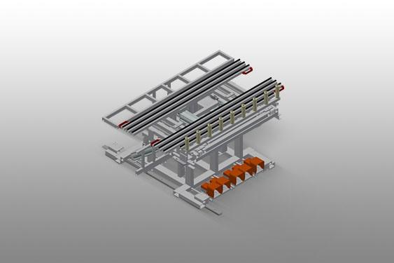 RMT 1400 Table d'assemblage du caisson de volet roulant
