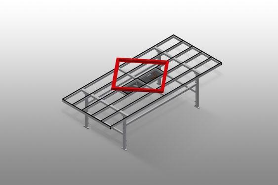 MST 3000 Table de déplacement