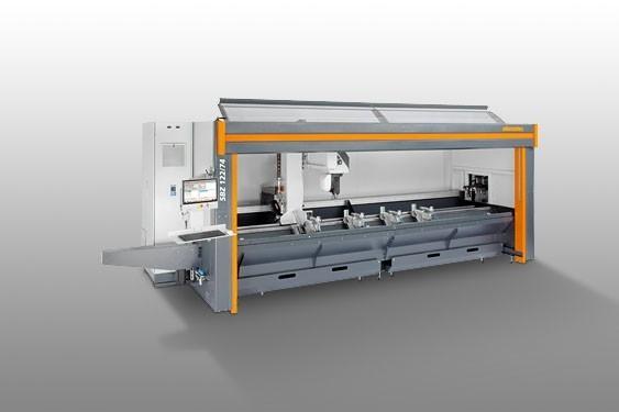 SBZ 122/74 Centro de mecanizado de barras