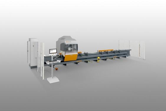 Centros de mecanizado de barras SBZ 130 Centro de mecanizado de barras Elumatec