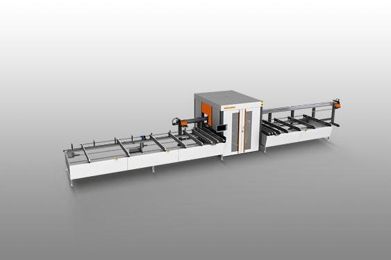 SBZ 618 Centro de mecanizado de barras