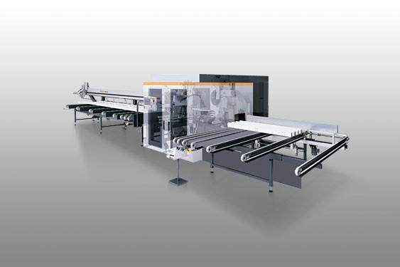 SBZ 630 Centro de mecanizado de barras