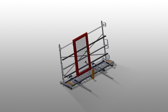 VR 3003 F - Vertical roller conveyor