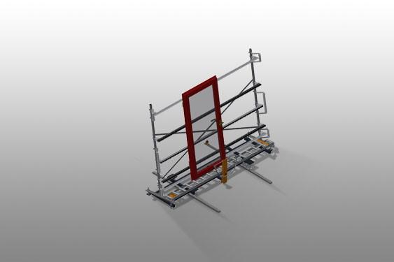 VR 3000 DF Convoyeur à rouleaux vertical avec système de rotation mobile