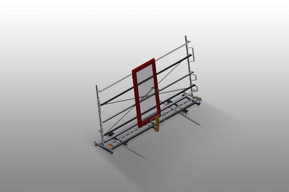 VR 4000 DF Convoyeur à rouleaux vertical avec système de rotation mobile