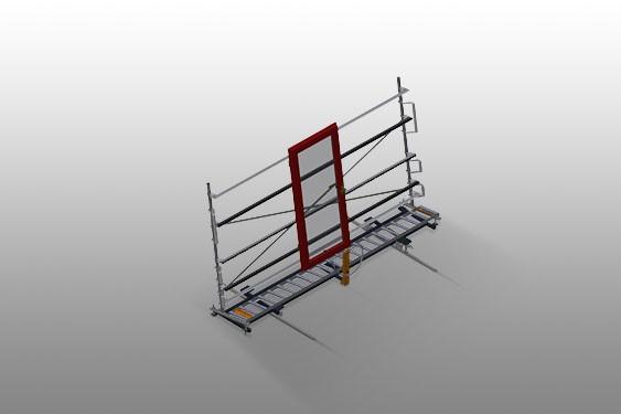 VR 4003 DF Convoyeur à rouleaux vertical avec système de rotation mobile