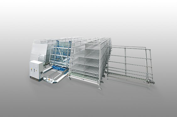 Fully automatic glass handling system