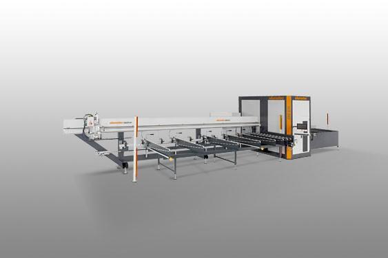 Profile machining centers SBZ 610/03 Cut-to-length centre Elumatec