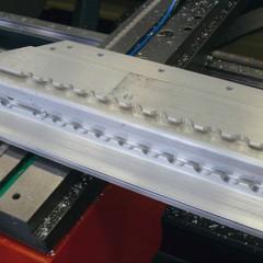 Profils en PVC eluCad  Pilotage du centre d'usinage des barres Elumatec