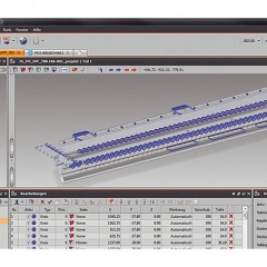 Perfiles de aluminio eluCad Manejo intuitivo, visualización clara, adaptación individual. Con eluCad pueden generarse programas de mecanización rápida y sencillamente. Elumatec