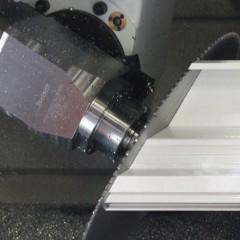 Profils en PVC eluCad  Usinage des profilés Elumatec