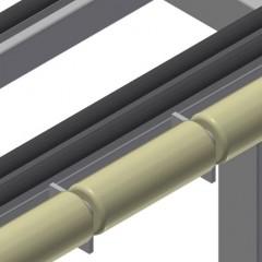 RFR 10/01 Frame rack Rollers Elumatec