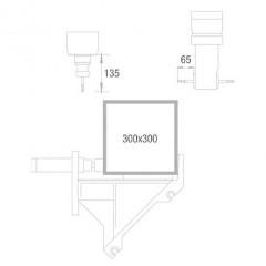 Centros de trabalho estáticos/modulares SBZ 122/70 Plus Centro estático Área de processamento Eixos Y e Z Elumatec