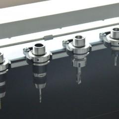 Centres d'usinage de barres SBZ 122/70 Plus Centre d'usinage de barres Magasin d'outils  Elumatec