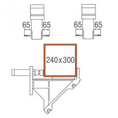 Centros de mecanizado de barras SBZ 122/71 Centro de mecanizado de barras Área de mecanización ejes Y y Z Elumatec