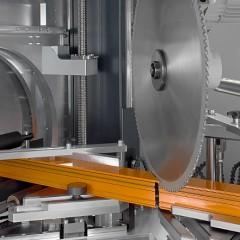 Profile machining centers SBZ 628 S Profile machining centre Cutting unit Elumatec