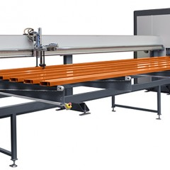 Centros de mecanizado de barras SBZ 628 XXL Centro de mecanizado de barras Cargador de transportador introductor Elumatec