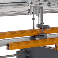 Centros de mecanizado de barras SBZ 628 XXL Centro de mecanizado de barras Sujeción de perfiles Elumatec