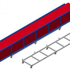 TPK 4000 Transport trolley for profile cassettes Transport trolley for profile cassettes TPK 4000 Elumatec