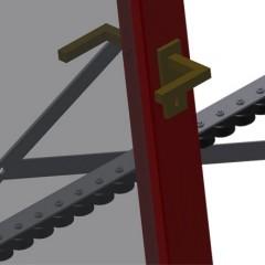 VR 3003 F - Vertical roller conveyor Mini-roller conveyor Elumatec